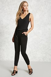 Forever 21 Contemporary Keyhole Jumpsuit