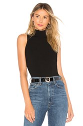 Milly Shirred Side Shell Top Black