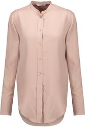 Helmut Lang Washed Silk Shirt Neutral