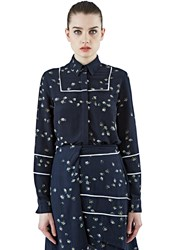 Preen Line Lin Long Sleeved Daisy Shirt Black