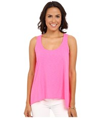 Lilly Pulitzer Monterey Tank Top Kir Royal Pink Women's Sleeveless