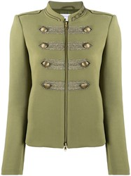 Patrizia Pepe Short Fitted Military Jacket 60