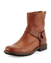 Frye Phillip Leather Harness Ankle Boot Cooper