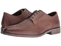 Stacy Adams Bastian Wingtip Oxford Cognac Men's Lace Up Wing Tip Shoes Tan