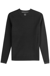 Marc By Marc Jacobs Ribbed Pullover Black