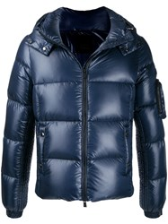 Tatras Hooded Padded Jacket Blue