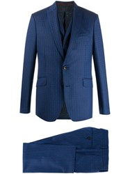 Etro Logo Embroidered Suit 60