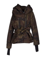 Bacon Coats And Jackets Jackets Women Military Green