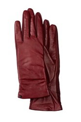 Urban Research Tech Leather Palm Glove Red