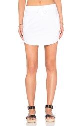 Feel The Piece Maier Tie Waist Mini Skirt White