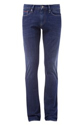 Tommy Hilfiger Men's Slim Scanton Stretch Jeans Mid Blue