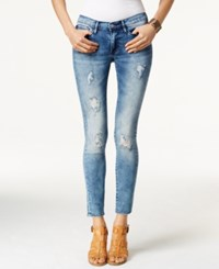 Buffalo David Bitton Faith Skinny Medium Denim Blue Wash Jeans