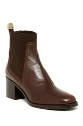 Delman Corie Chelsea Boot Brown