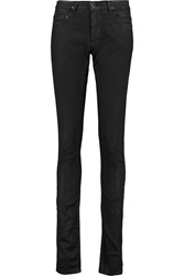 Rick Owens Low Rise Skinny Jeans Black