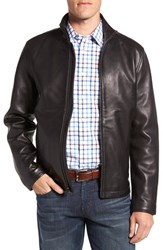 Vince Camuto Men's Leather Moto Jacket