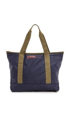 Bensimon Zipped Tote Navy