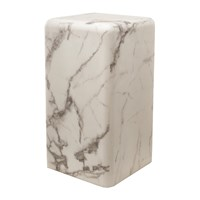 Pols Potten Artificial Marble Pillar White