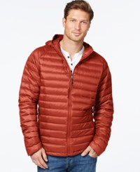 Weatherproof 32 Degrees Packable Down Jacket Orange