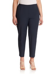 Lafayette 148 New York Plus Size Bi Stretch High Waist Pants Ink