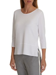 Betty And Co. Textured Top Bright White