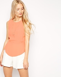 Dress Gallery Pivione Top Apricot