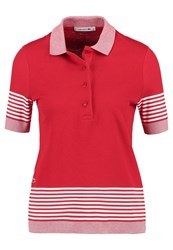 Lacoste Polo Shirt Rouge Farine Red