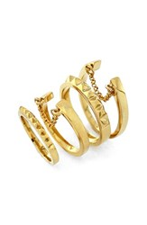 Women's Vince Camuto 'Super Fine' Band Rings Set Of 4