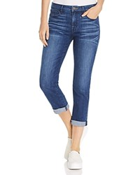 Parker Smith Courtney Cuffed Crop Jeans In Electra