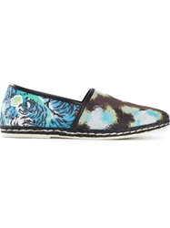 Kenzo Patterned Espadrilles Brown