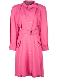 Thierry Mugler Vintage Overcoat Pink And Purple