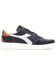 Diadora Metallic Panel Trainers Blue