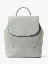 Modalu Alice Leather Backpack Pebble Grey