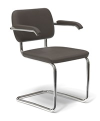 Knoll Cesca Upholstered Arm Chair Multicolor