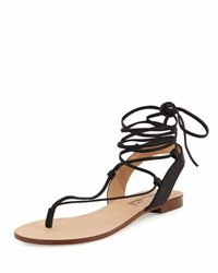 Splendid Candee Strappy Leather Sandal Rose Gold
