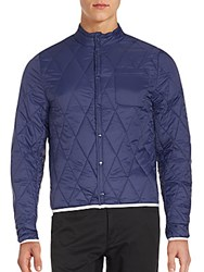 Members Only Ultra Light Quilted Jacket China Blue