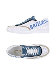 Galliano Footwear Low Tops And Trainers Men White