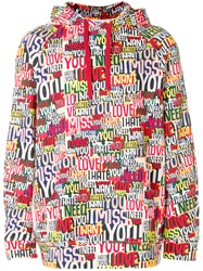 Ports 1961 Comic Printed Hoodie Multicolour