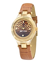 Just Cavalli Wrist Watches Brown