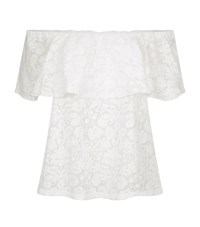 Claudie Pierlot Tapage Off The Shoulder Top Female White