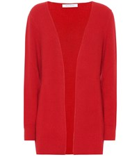 Ryan Roche Cashmere Cardigan Red
