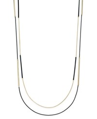 Inc International Concepts Gold Tone Jet Layer Necklace Only At Macy's