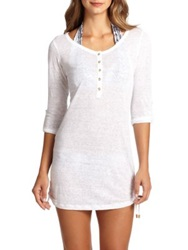 Heidi Klein Corelli Jersey Shirtdress White