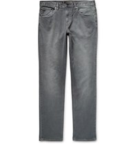 Michael Kors Slim Fit Stretch Denim Jeans Gray