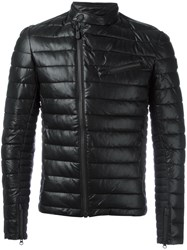 Save The Duck Mandarin Neck Padded Jacket Black