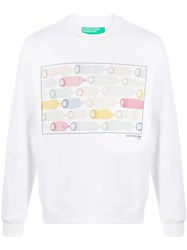United Colors Of Benetton Condom Print Sweatshirt 60