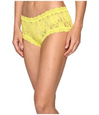 Hanky Panky Signature Lace Boyshort Lemongrass Women's Underwear Yellow