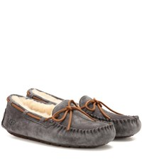 Ugg Dakota Shearling Lined Moccasins Grey