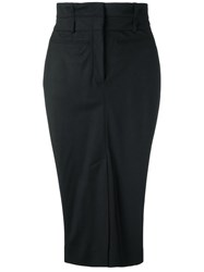 Haider Ackermann Tulip Skirt Black