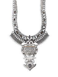Baublebar Amazon Bib Necklace Silver