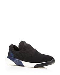 Ash Soda Neoprene Slip On Sneakers Black